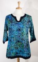 Pullover Tunic by Bali Batiks (2 Colors)