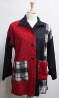"""Jana Adair"" Plaid Wool Blend Jacket by ""Cameleon"""