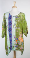 Silky Cross-over Tunic by Citron