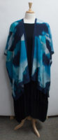 """""""Cloud"""" Long Open Front Kimono by """"Cocoon House"""""""