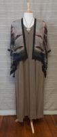 "Cocoon House - Short Silk Kimono - ""Crest"""