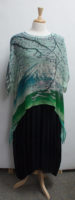 """""""Summit"""" Print Long Silk Topper by """"Cocoon House"""""""
