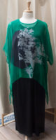 """Cocoon House Silk Topper """"Lilith"""" Print"""