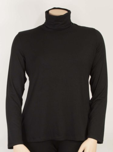 Comfy USA Turtleneck - Black
