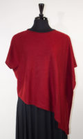 "100% Cashmere ""D"" Poncho by Dolma Imports (3 Colors)"