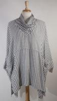 Cowl Neck Striped Tunic by Dairi