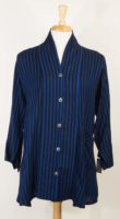 Dairi Striped Button Front Jacket (2 Colors)