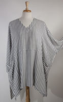 V Neck Striped Tunic by Dairi