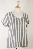 Flax Striped Playful Top (3 Colors)
