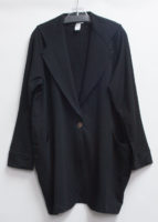 """""""Dean"""" Bamboo Fleece One-Button Jacket by """"Flutter"""""""