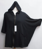 """OVERSIZED """"Teddy"""" Hoodie Jacket by """"Flutter"""" (2 colors)"""