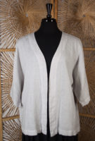 Boxy Linen Cardigan by Focus (4 colors)