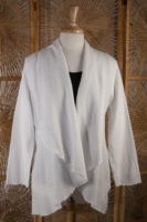 Long Sleeved Lightweight Cotton Cardigan by Focus (2 Colors)