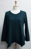 """French Terry Long Sleeved Top by """"Focus"""" (2 colors)"""