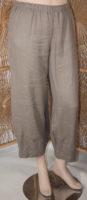 Linen Flood Pants by Focus (3 colors)