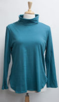 """Long Sleeved Fine Jersey Turtleneck Tees by """"Focus"""" (3 colors)"""