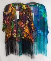 Simply Silk Fringe Jacket (2 Colors)