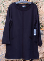 "Modern Terry Cotton Dress by ""Habitat"" (2 colors)"