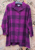 "Plaid Check Blouse by ""Habitat"" (3 colors)"