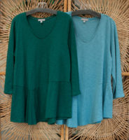 "100% Cotton V-Neck Tunic by ""Habitat"" (2 colors)"