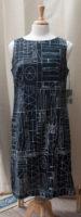 """Abstract Sleeveless Dress by """"Habitat"""""""