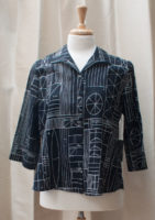 """Abstract Tribal Print Top by """"Habitat"""""""