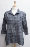 """Crinkle Cotton Pieced Swing Shirt by """"Habitat"""" (3 colors)"""