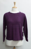 """Mixed Stitch Boatneck Sweater by """"Habitat"""" (2 colors)"""