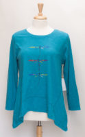 """Turquoise Dragonfly Top from """"ESCAPE by Habitat"""""""