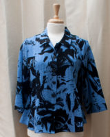 """Fit and Flare Floral Tops by """"Habitat"""" (2 colors)"""