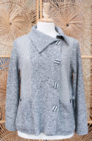 "Asymmetrical Button Cardigan by ""Habitat"""