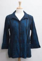 "Crinkle Cotton Plaid Swing Shirt by ""Habitat"" (2 colors)"