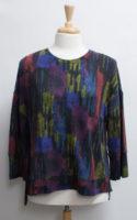 "Watercolor Soft Fleece Boxy Crew by ""Habitat"""