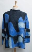 Blue Clouds Cozy Alpaca Sweater by Iridium