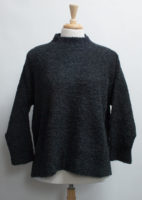 """One-size Cozy Sweater by """"Iridium"""" (Two Colors)"""