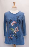 """Pretty Print Cotton Tee by """"Jess and Jane"""""""