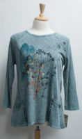 """Soft Teal """"Whimsical"""" Tunic with Pockets by """"Jess and Jane"""""""
