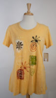 Summery Yellow Cotton Top by Jess and Jane