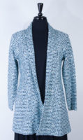 Jacket in Soft Blues by Komil