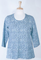 Tunic in Soft Blues by Komil