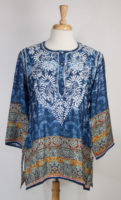 "Indigo ""Safiya"" Blouse by Love Kyla"
