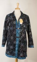 "LA Blend 36"" Long Reversible Coat with Pockets (2 Colors)"