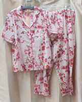 "Pretty Pink Print PJs by ""La Cera"""