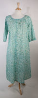 Mountain Laurel Print La Cera Nightgown