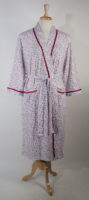 Pretty Rose Print Robe by La Cera (Matching Nightgown also available)