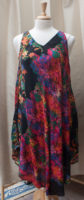 "Colorful Trapeze Dress by ""La Cera"""