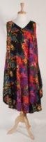 La Cera Sleeveless Trapeze Dress (2 Colors)