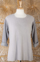 Gray Sweater by Margaret Winters
