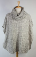 Margaret Winters Cowl Neck Poncho Sweater