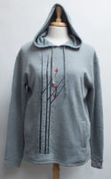 """Pullover Hoodie Trees and Birds by """"Marushka"""""""